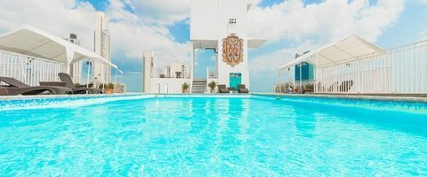 Outdoor Pool City House Soloy & Casino Hotel