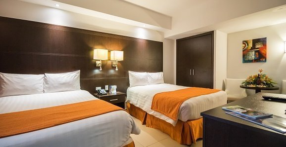 Deluxe Double Room City House Soloy & Casino Hotel